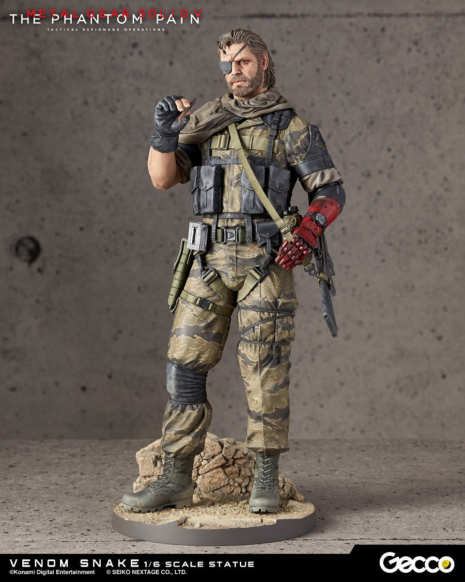Venom Snake 1/6th Scale Statue Metal Gear Solid V: The Phantom Pain - Otaku Toy Collection LLC