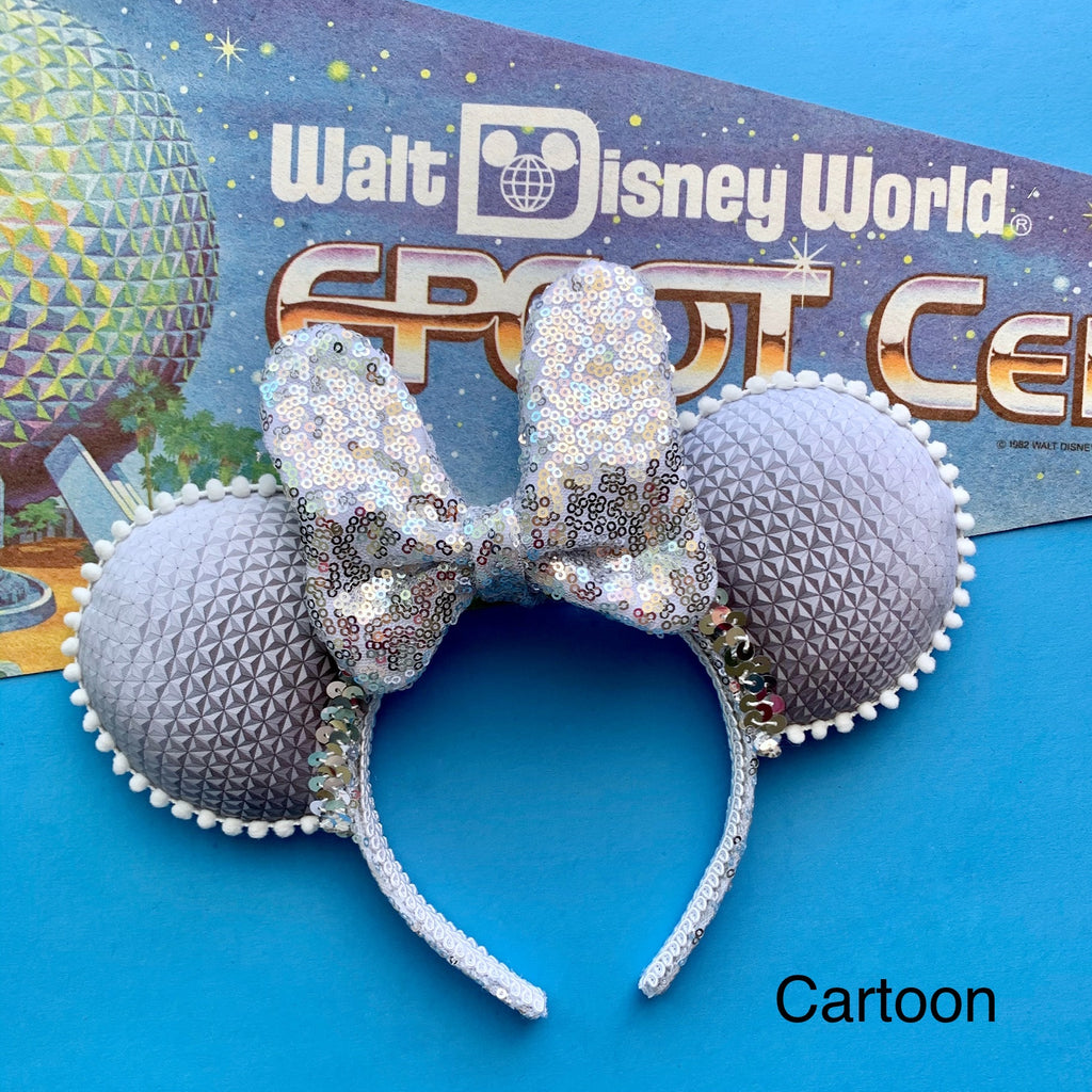 PRE-ORDER Space Dome Choose your Bow Handmade Ears