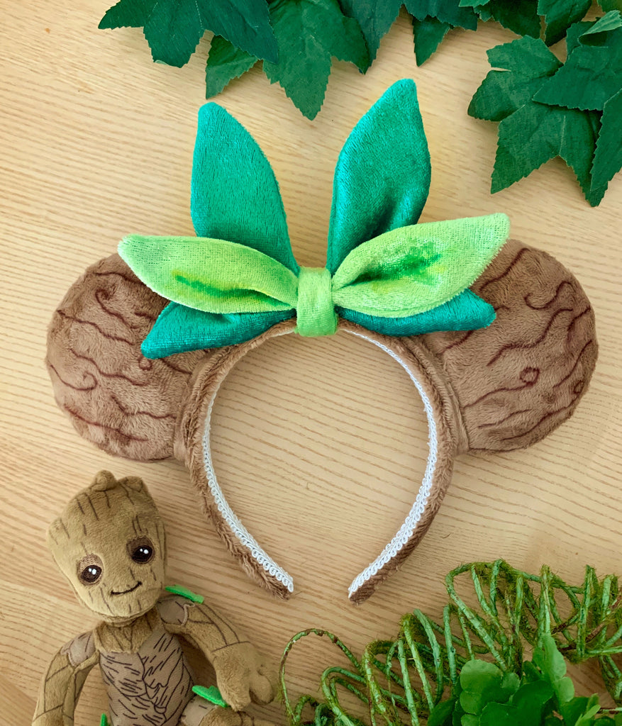 "Plush ""Tree"" Handmade Ears"