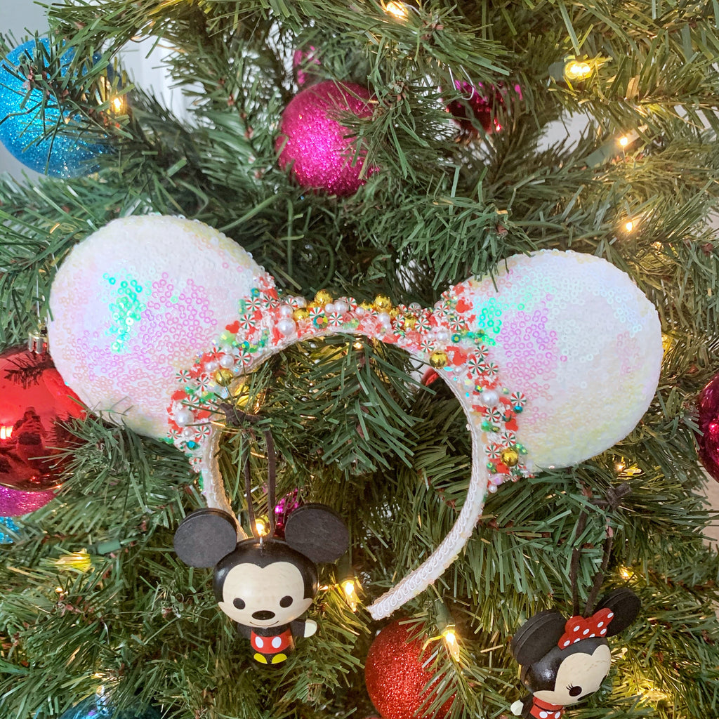 Full-Size Ears - White Vintage Holiday Candy
