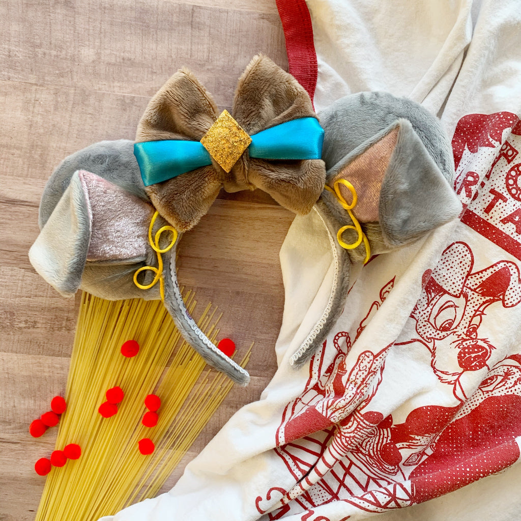 Plush Lady and Tramp Handmade Ears