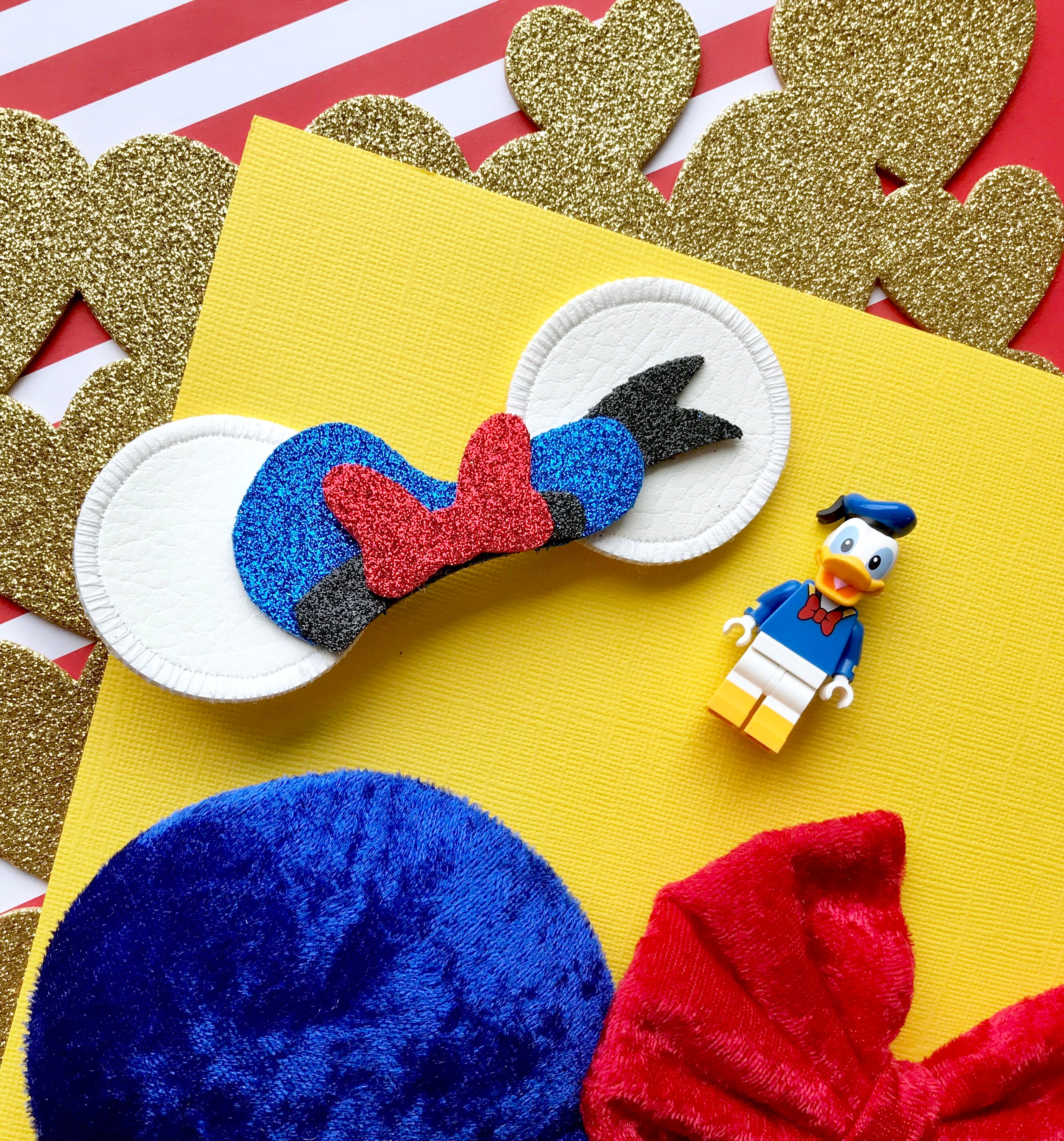 Limited Edition Donald Mouse Ears Clip