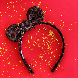 Leopard Knot Ear Headband