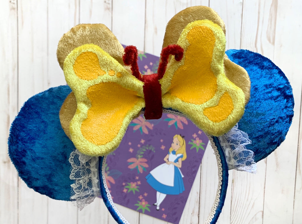 Plush Bread and Butterfly Handmade Ears