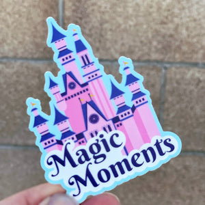 Magic Moments Vinyl Sticker