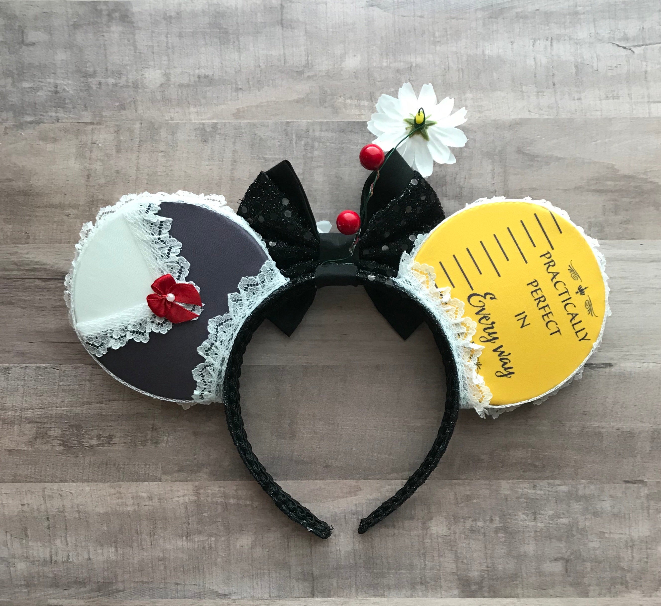 Mary Poppins Practically Perfect Handmade Ears