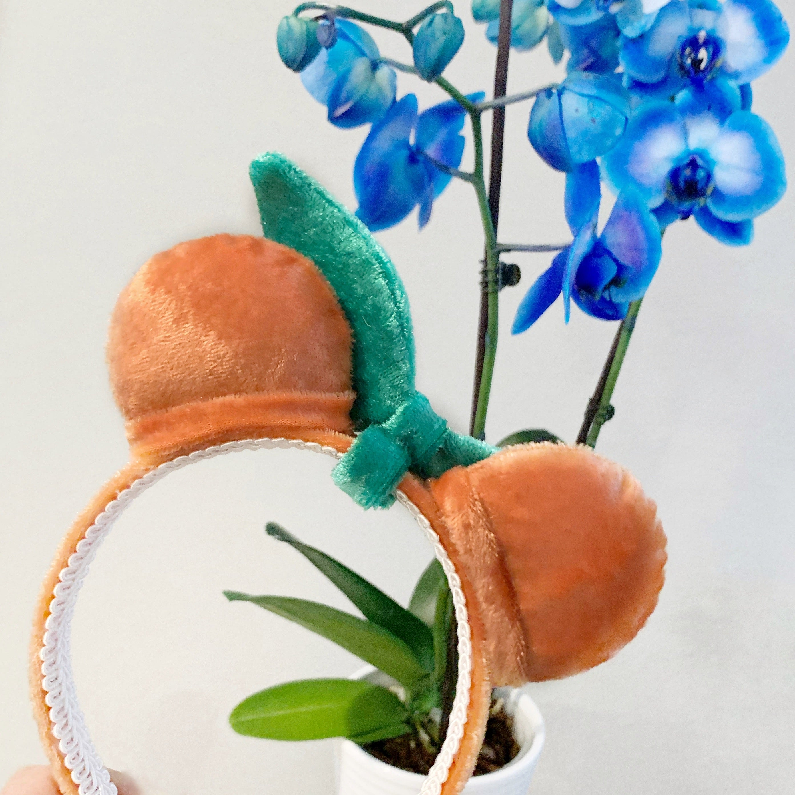 PRE-ORDER Plush Orange Mini Minnie Ears