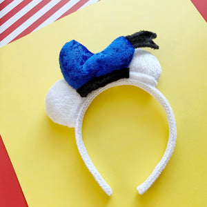Plush Duck Hat MINI Handmade Ears