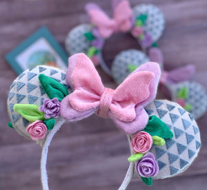 PRE-ORDER Plush Flower and Garden Handmade Ears