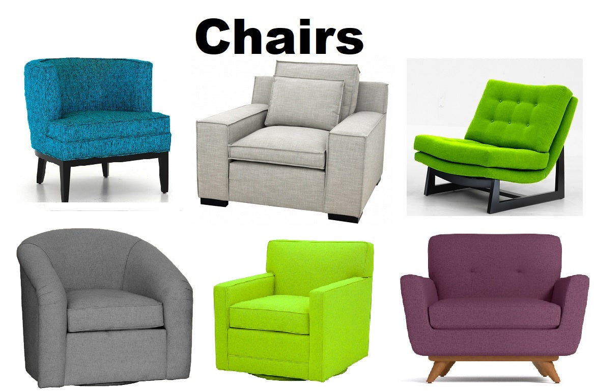 Chairs - Choose a fabric