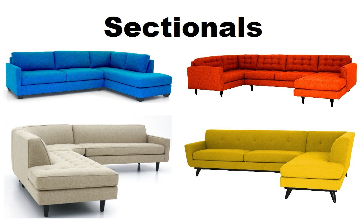 Sectionals- Choose a Fabric