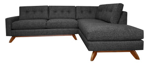 "Venice 2pc Sectional Right Facing 99""W x 87""L"