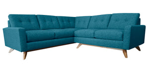 "Venice 2pc Sectional 89""W x 89""L"