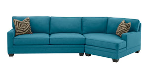 Loft 2PC Sectional Right Facing 135""