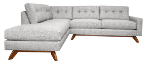 "Venice 2pc Sectional Left Facing 99""W x 87""L"