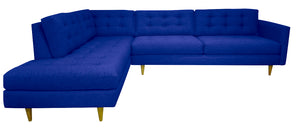 "San Diego 2pc Sectional Left Facing 119""W x 87""L"
