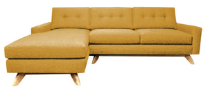"Venice 2pc Sectional Left Facing 99""W x 65""L"