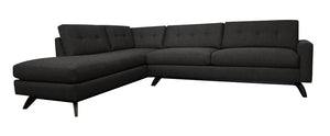 "Venice 2pc Sectional Left Facing 110""W x 87""L"