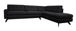 "Venice 2pc Sectional Right Facing 110""W x 87""L"