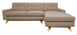 "Venice 2pc Sectional Right Facing 99""W x 65""L"