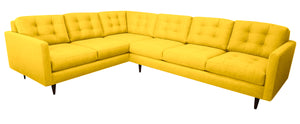 "San Diego 2pc Sectional Right Facing 122""W x 96""L"