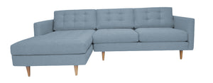 "San Diego 2pc Sectional Left Facing 103""W x 65""L"