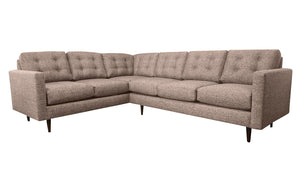 "Elmwood 2pc Sectional Right Facing 110""W x 86""L"