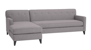 "Urbana 2pc Sectional Left Facing Sectional 105""w x 65""l"