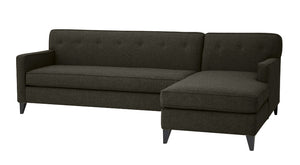 "Urbana 2pc Sectional Right Facing Sectional 105""w x 65""l"