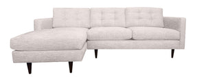 "San Diego 2pc Sectional Left Facing 99""W x 65""L"