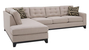 "Sorrento 2pc Sectional Left Facing 119""W x 85""L"