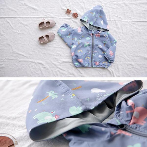 Assorted Animal Pattern Lightweight Jacket