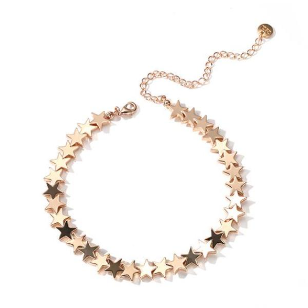 Stars Choker Necklace