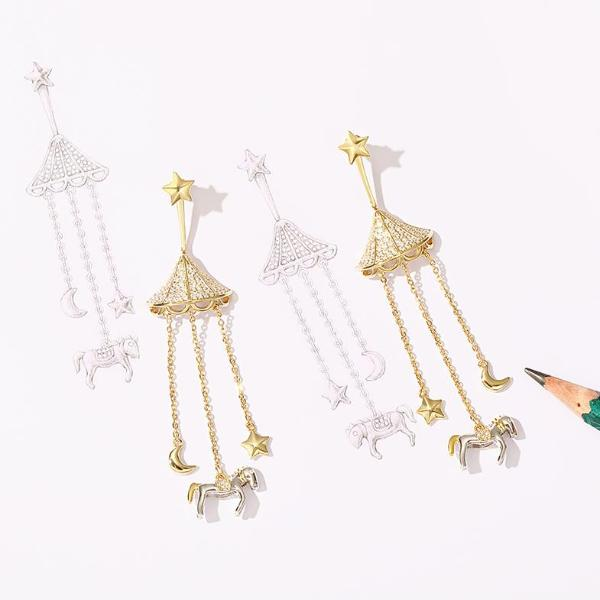 Carousel Earrings