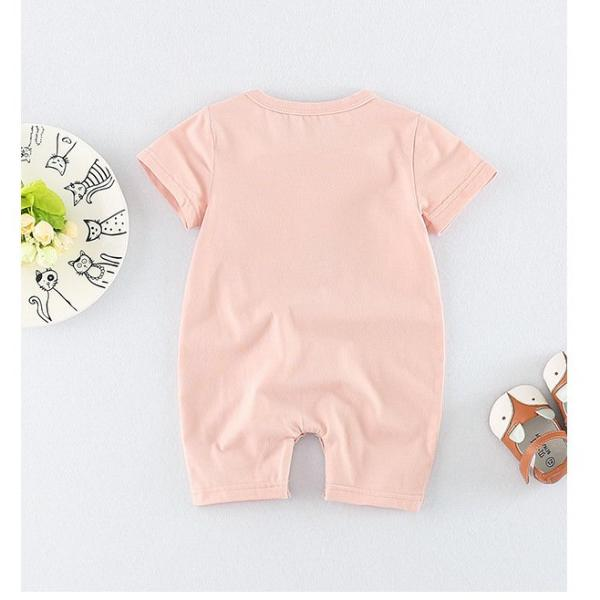 Sloth Short Sleeve Romper