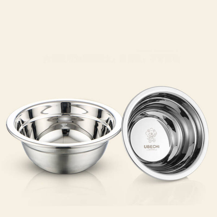 Ubechi Stainless Steel Original 6-Piece Dish Set