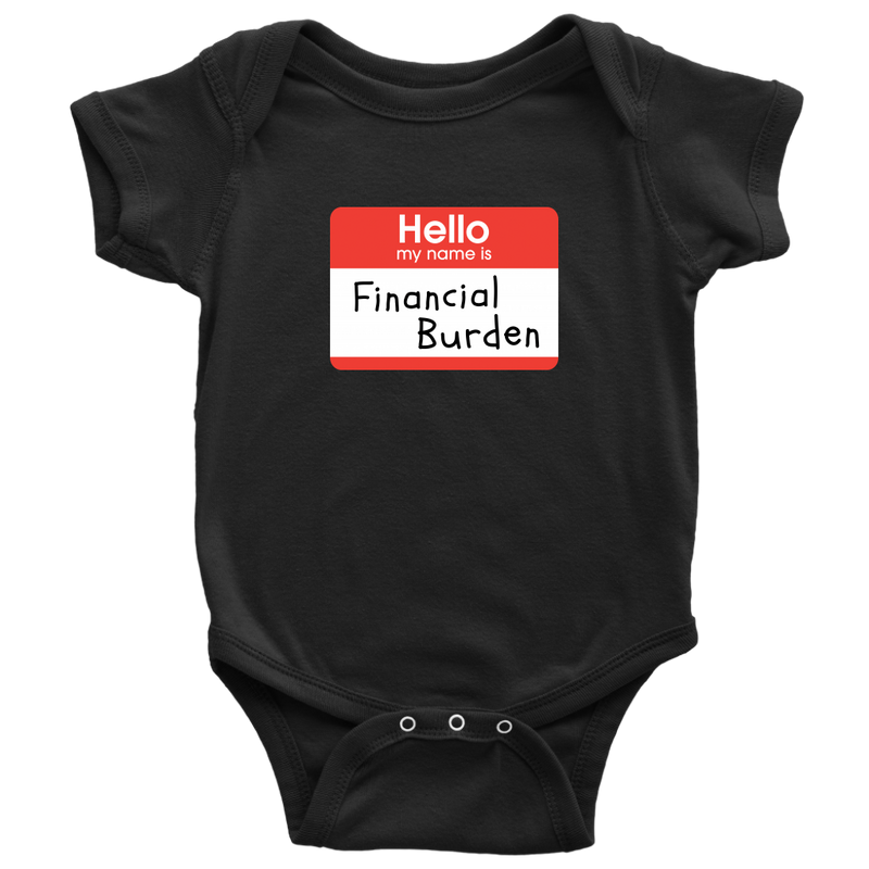 Financial Burden Onesie