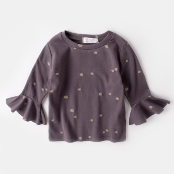 Freckled Bell Sleeve Shirt