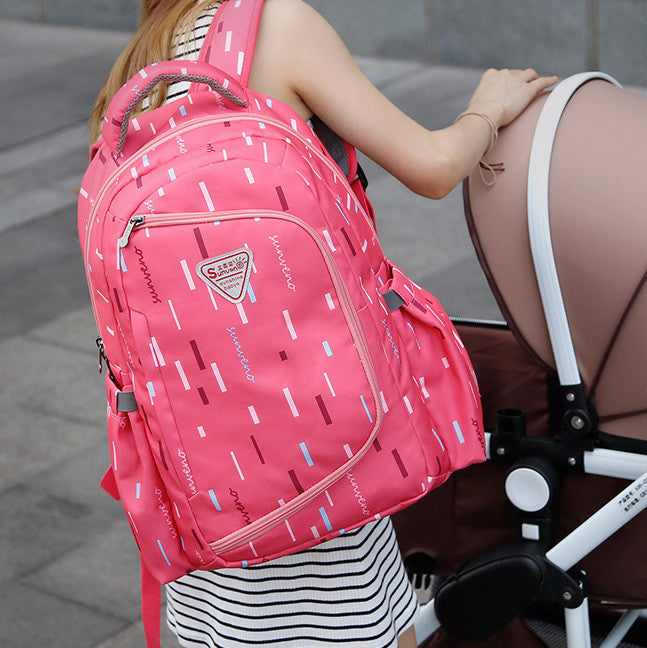 2-in-1 Diaper Backpack