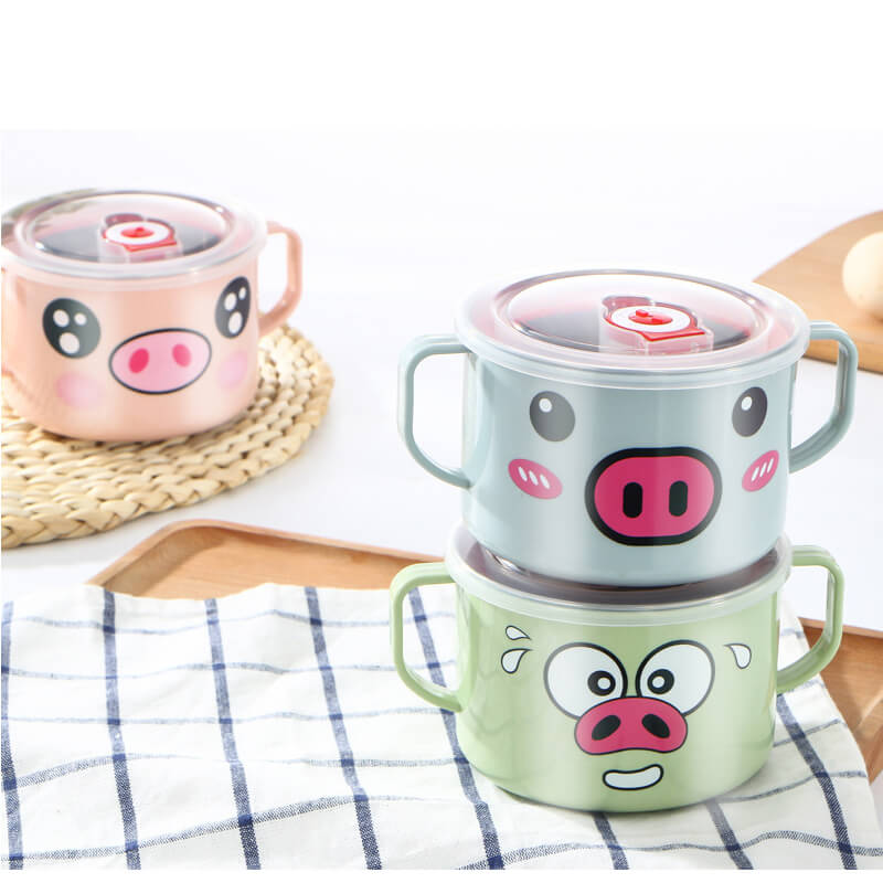 Ubechi Stainless Steel Pig Bowl
