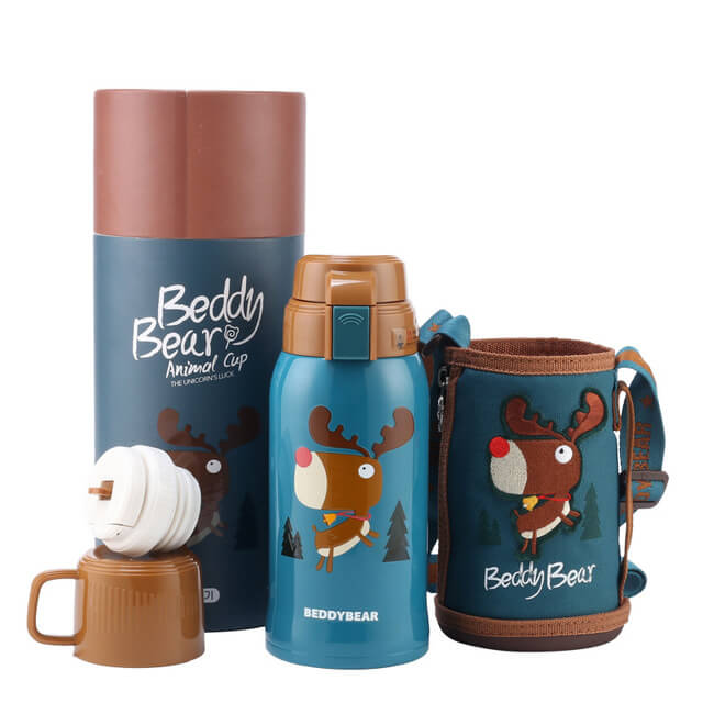 BeddyBear Stainless Steel Thermos Bottle - 20oz