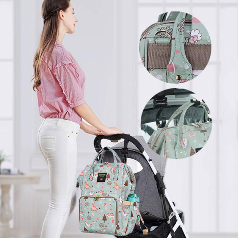 City Tour Diaper Backpack - All Over Print