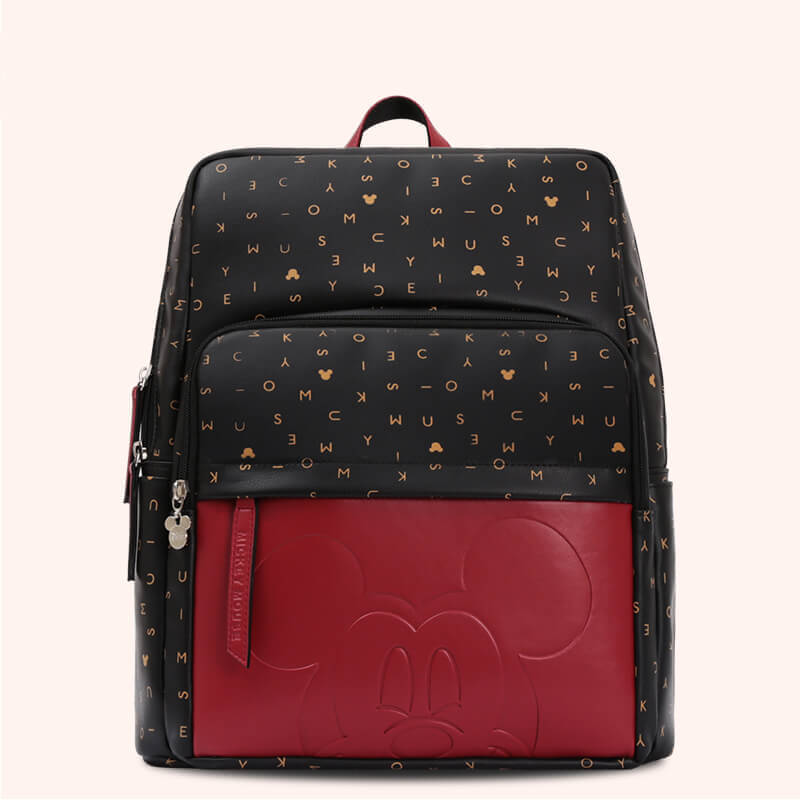 Disney Mickey & Minnie Letter Accent Diaper Bag