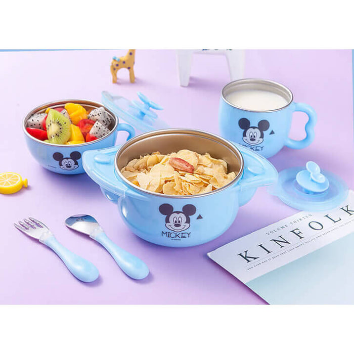Disney Premium 316L Stainless Steel Dish Set