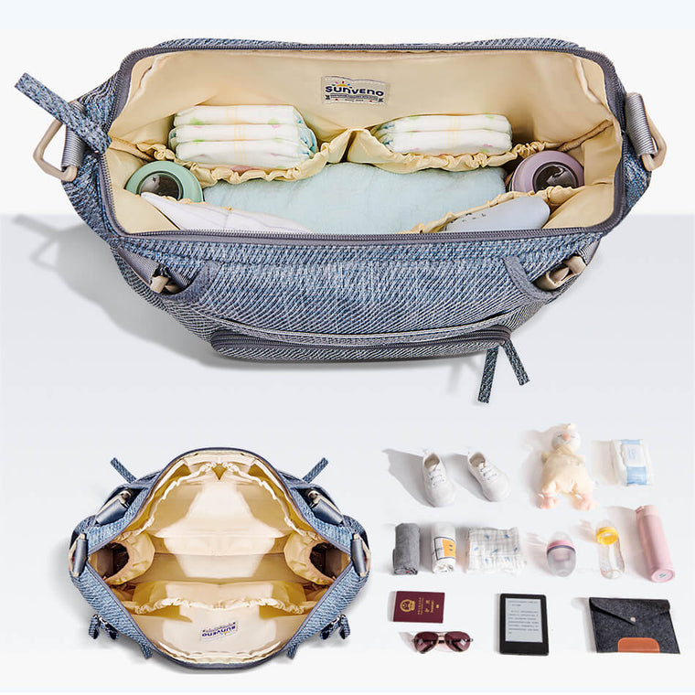 Pearl Chic Satchel Diaper Bag