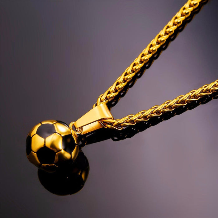 Soccer Ball Necklace