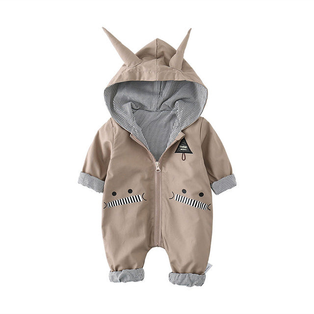 Little Devil Hooded Bodysuit