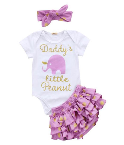 Baby Girl Litle Peanut Outfit