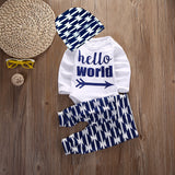 HELLO WORLD Outfit-take home outfit