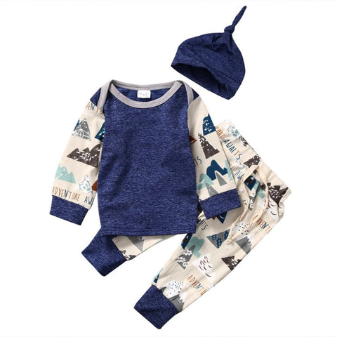 Baby Boy Adventure Awaits Outfit